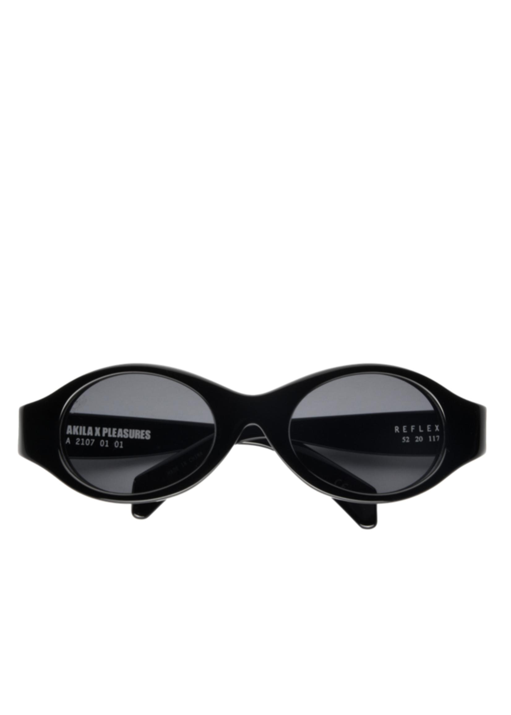 PLEASURES PLEASURES x AKILA Reflex Sunglasses in Black