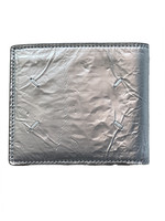 Maison Margiela Silver Wrinkled Leather Bifold