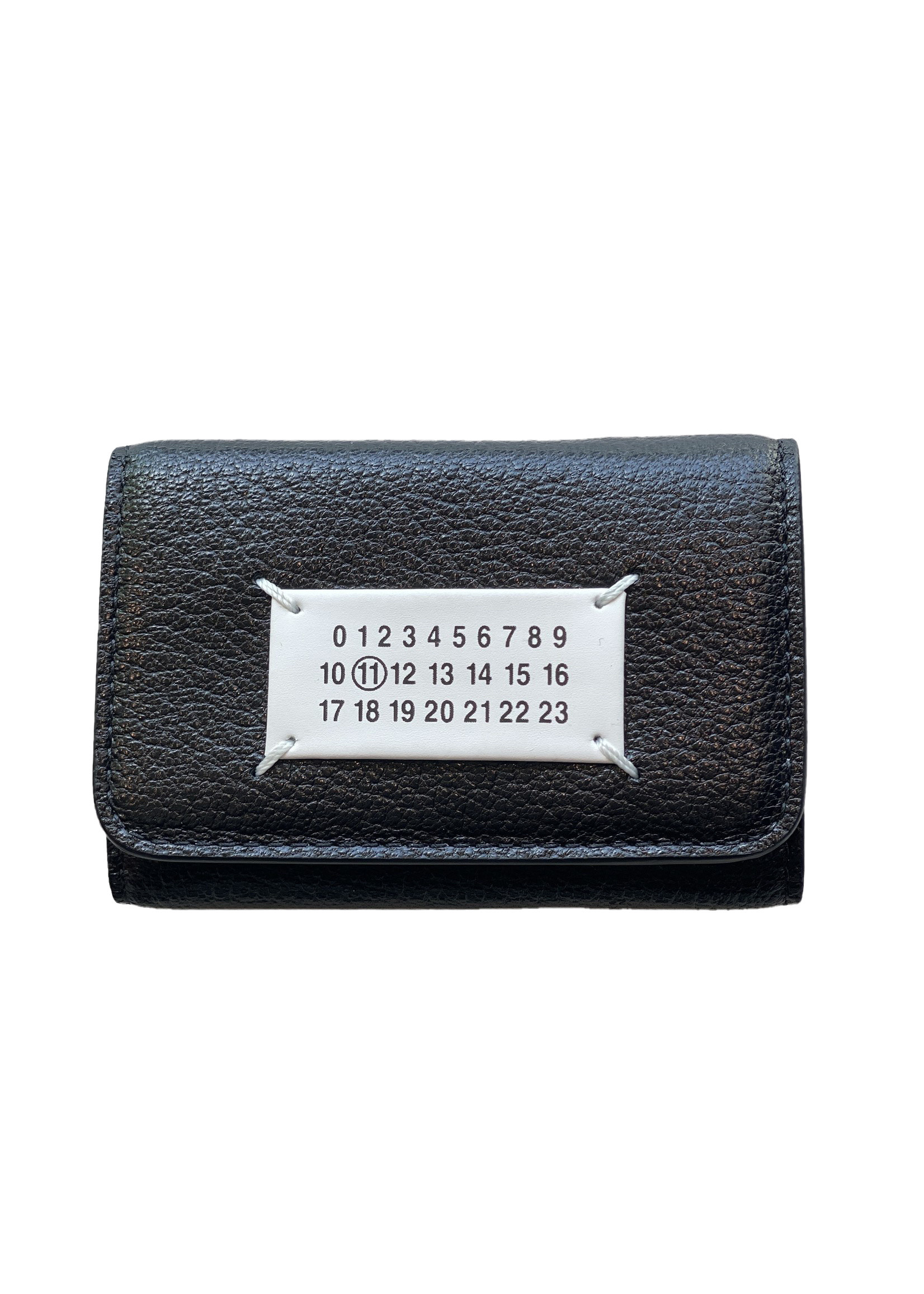 Maison Margiela Small Snap Wallet in Black