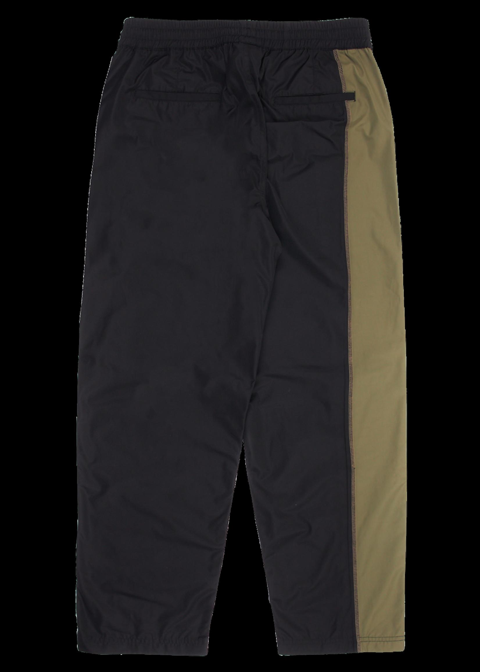 PLEASURES Reality Split Nylon Pant in Black