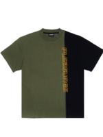PLEASURES Reality Split Shirt in Black
