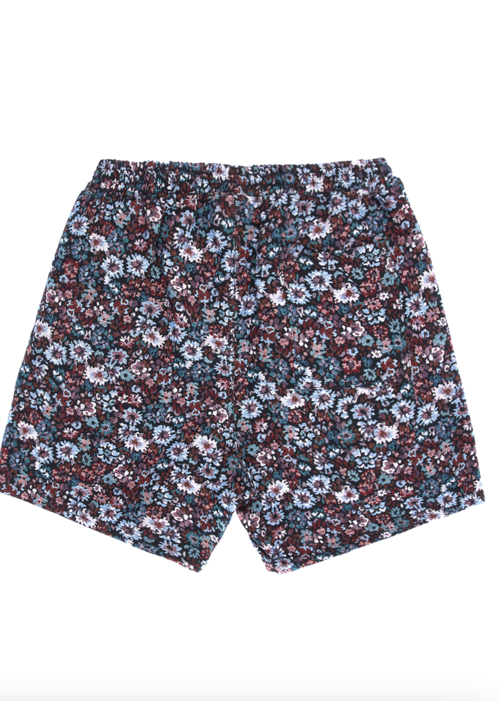 PLEASURES Quitter Shorts in Black Floral