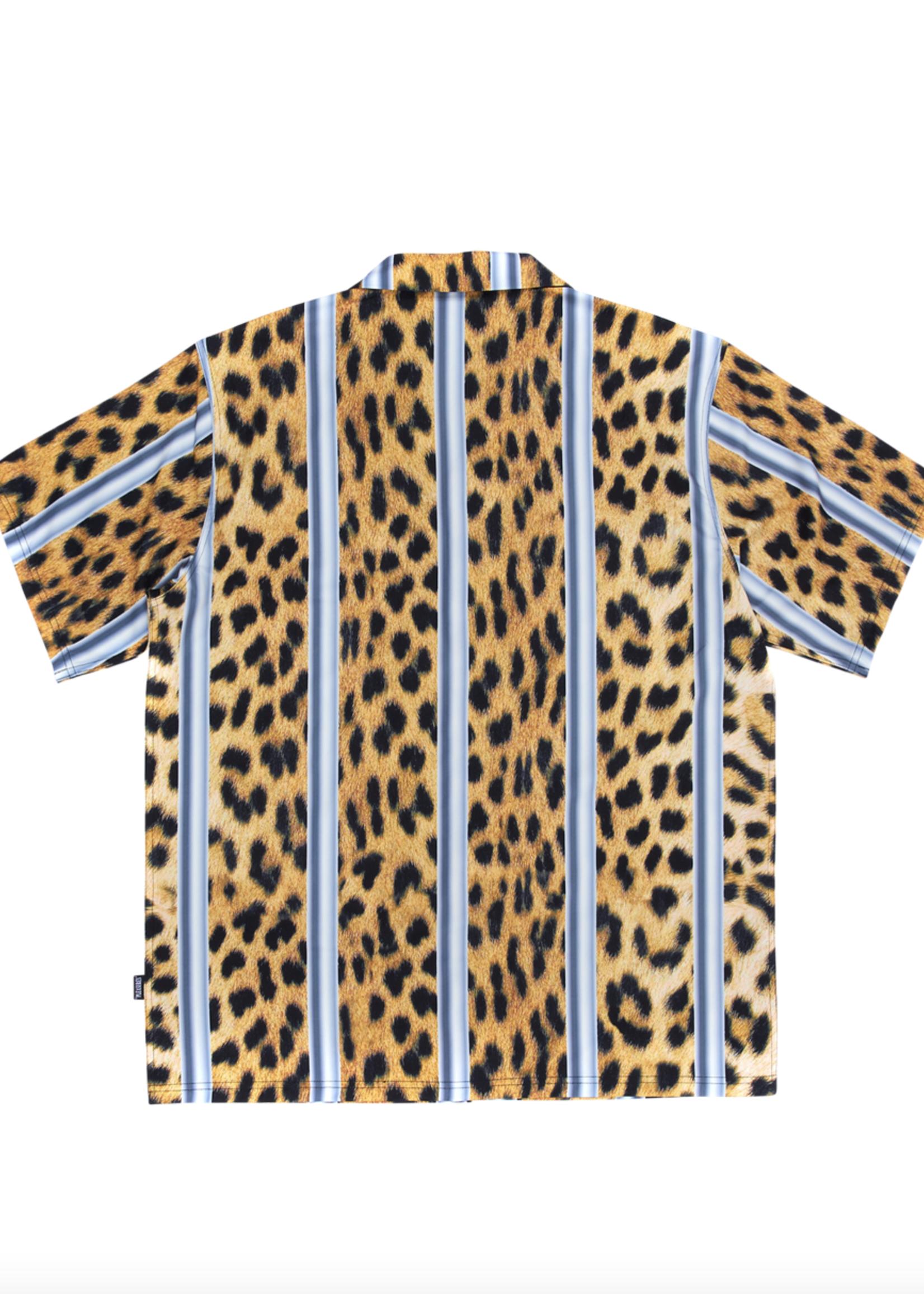 PLEASURES Eddie Shirt in Cheetah