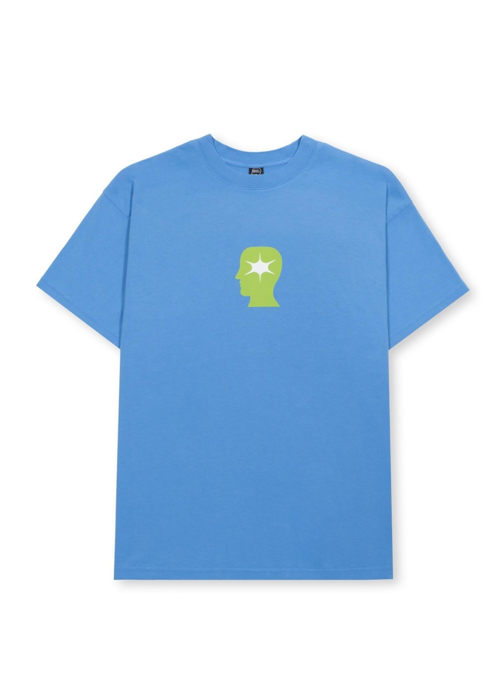 Brain Dead Wide Eye T-shirt in Blue
