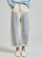 Rachel Comey The Handy Double Knee Pant in Natural