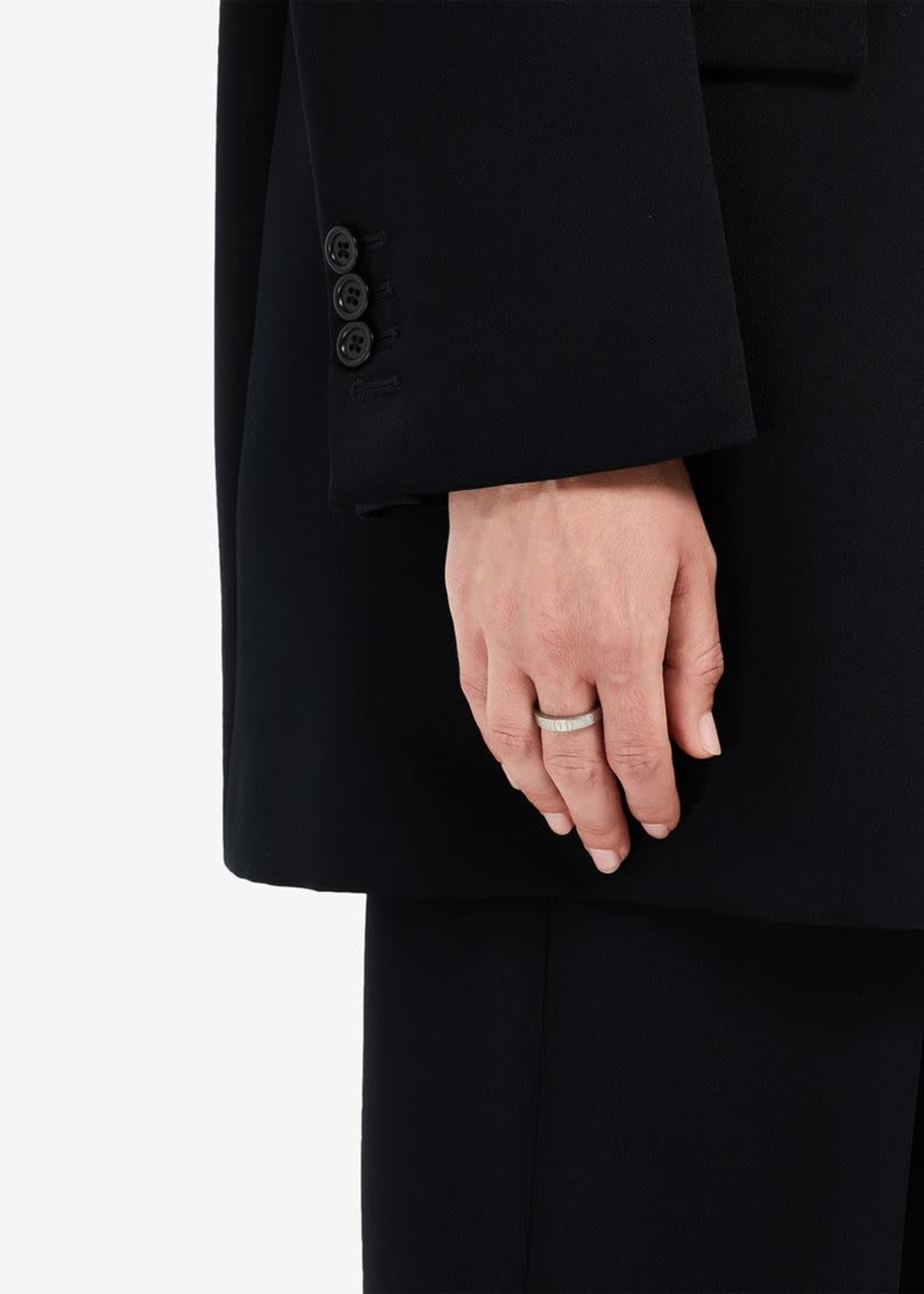 Maison Margiela Number Logo Ring in Silver
