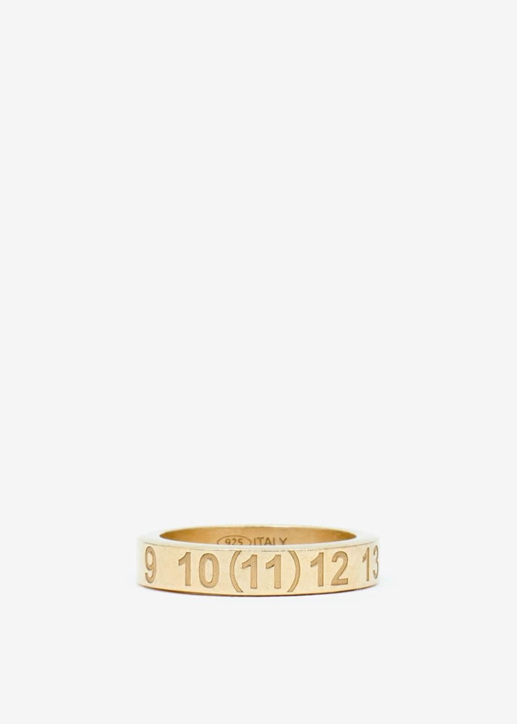 Maison Margiela Number Logo Ring in Gold