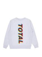 PLEASURES New Order Total Sweatshirt in Heather Grey