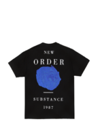 PLEASURES New Order Substance T-shirt in Black