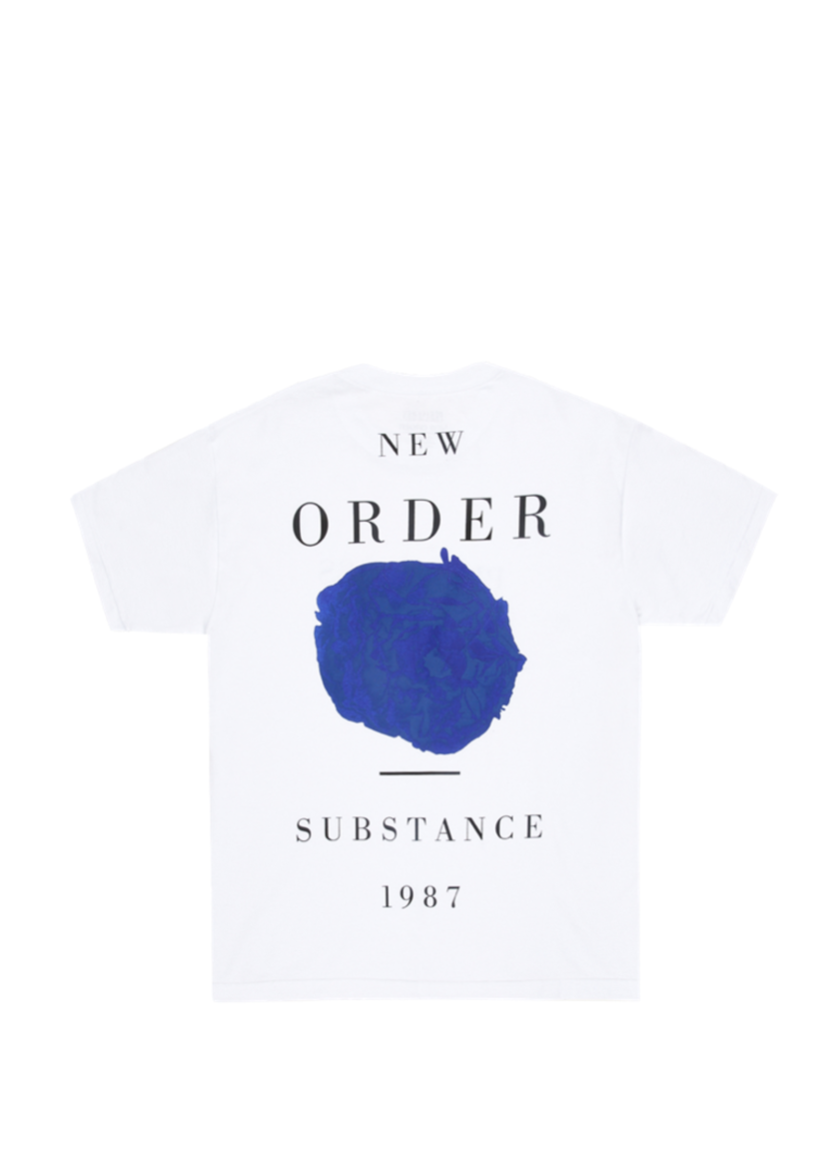 PLEASURES NEW ORDER SUBSTANCE T-SHIRT IN white