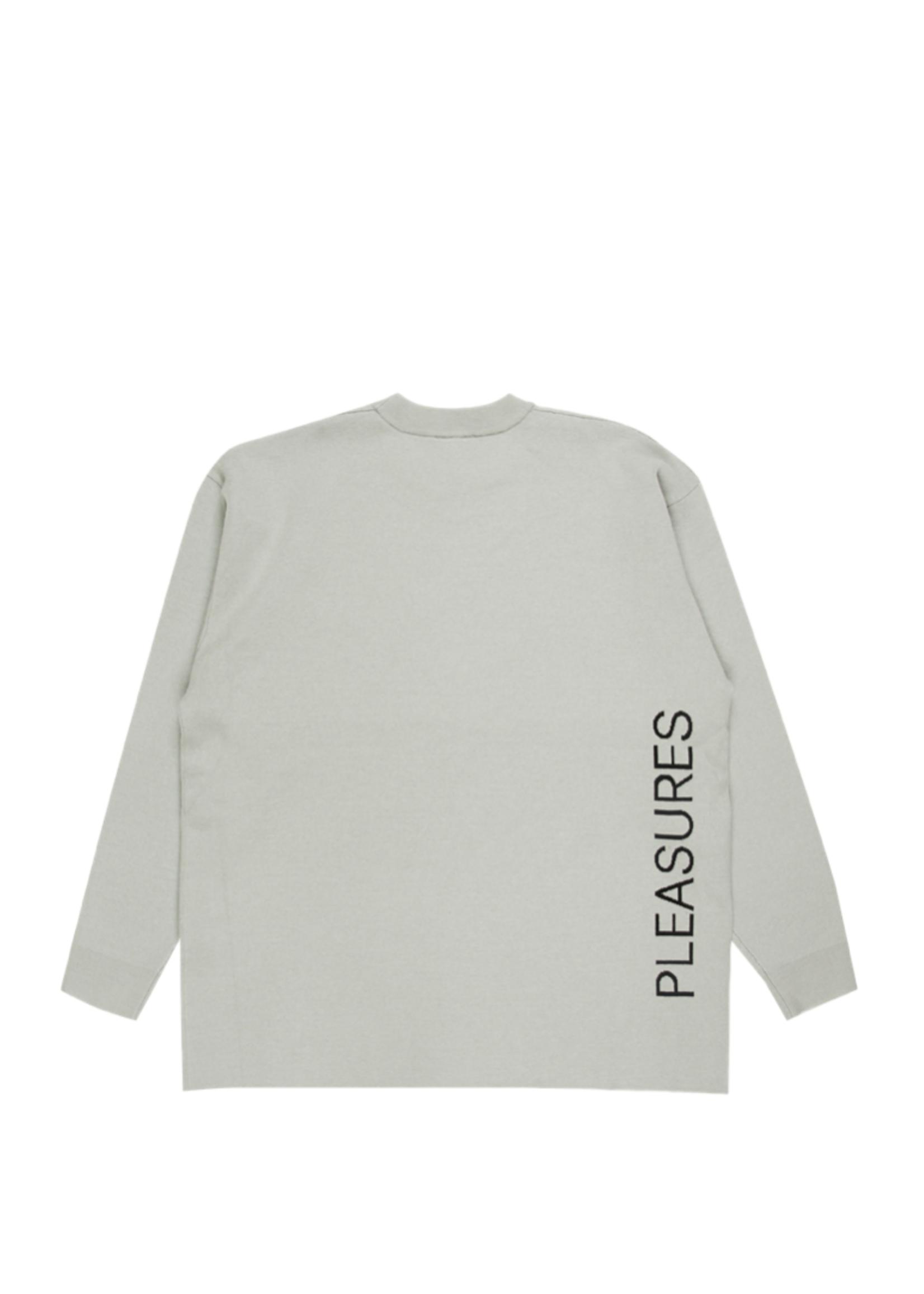 PLEASURES New Order Lowlife Sweater in Grey
