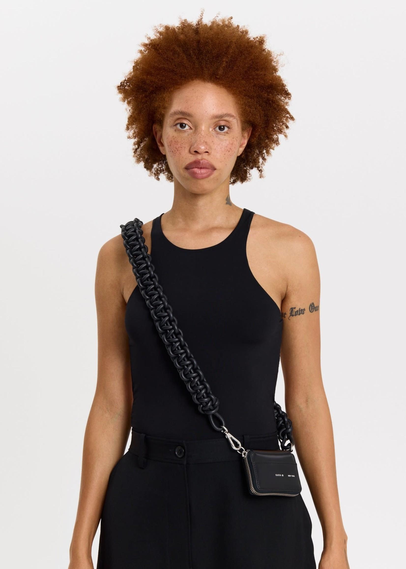 KARA Cobra Bike Wallet in Black
