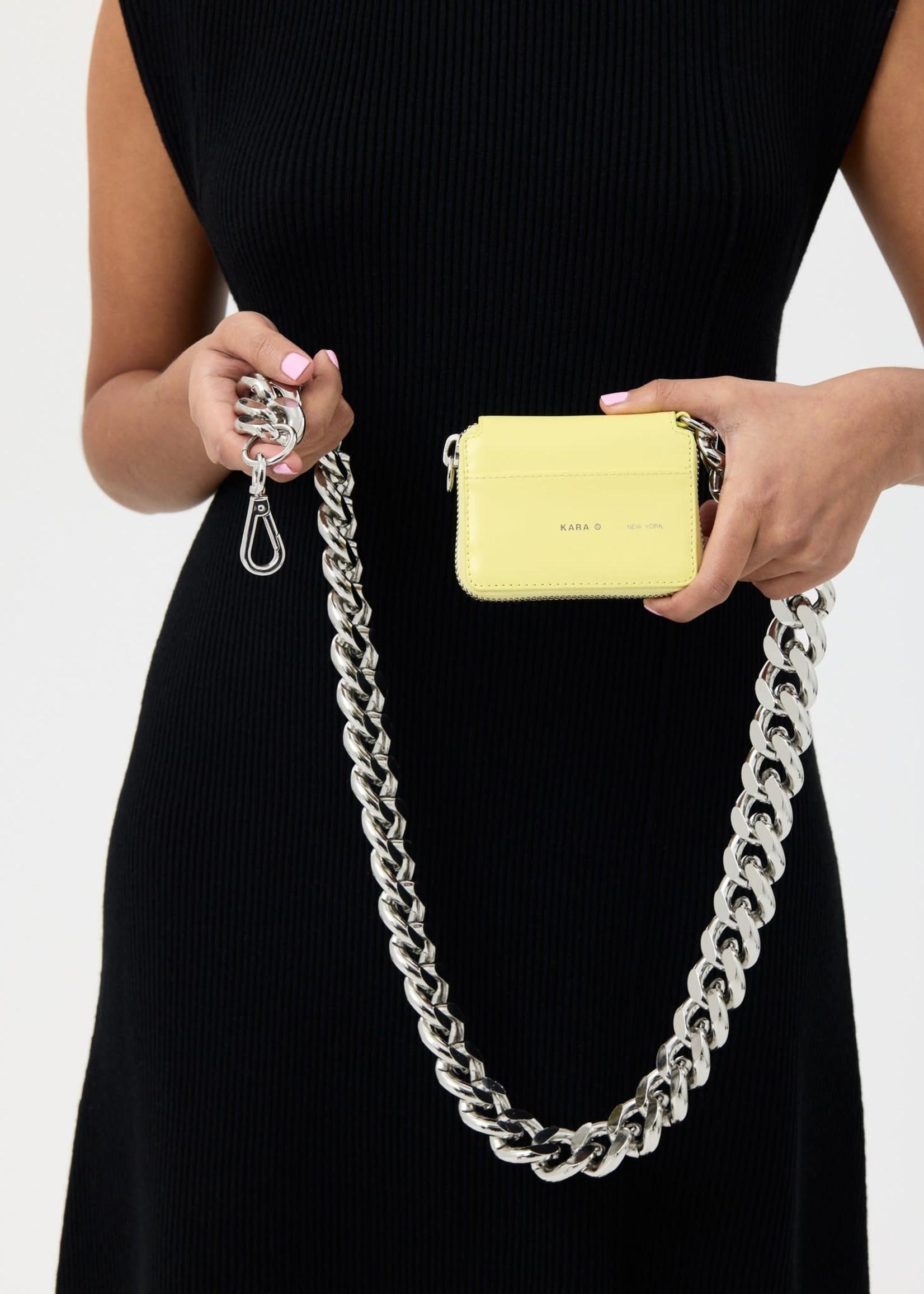 KARA Bike Chain Wallet in Butter