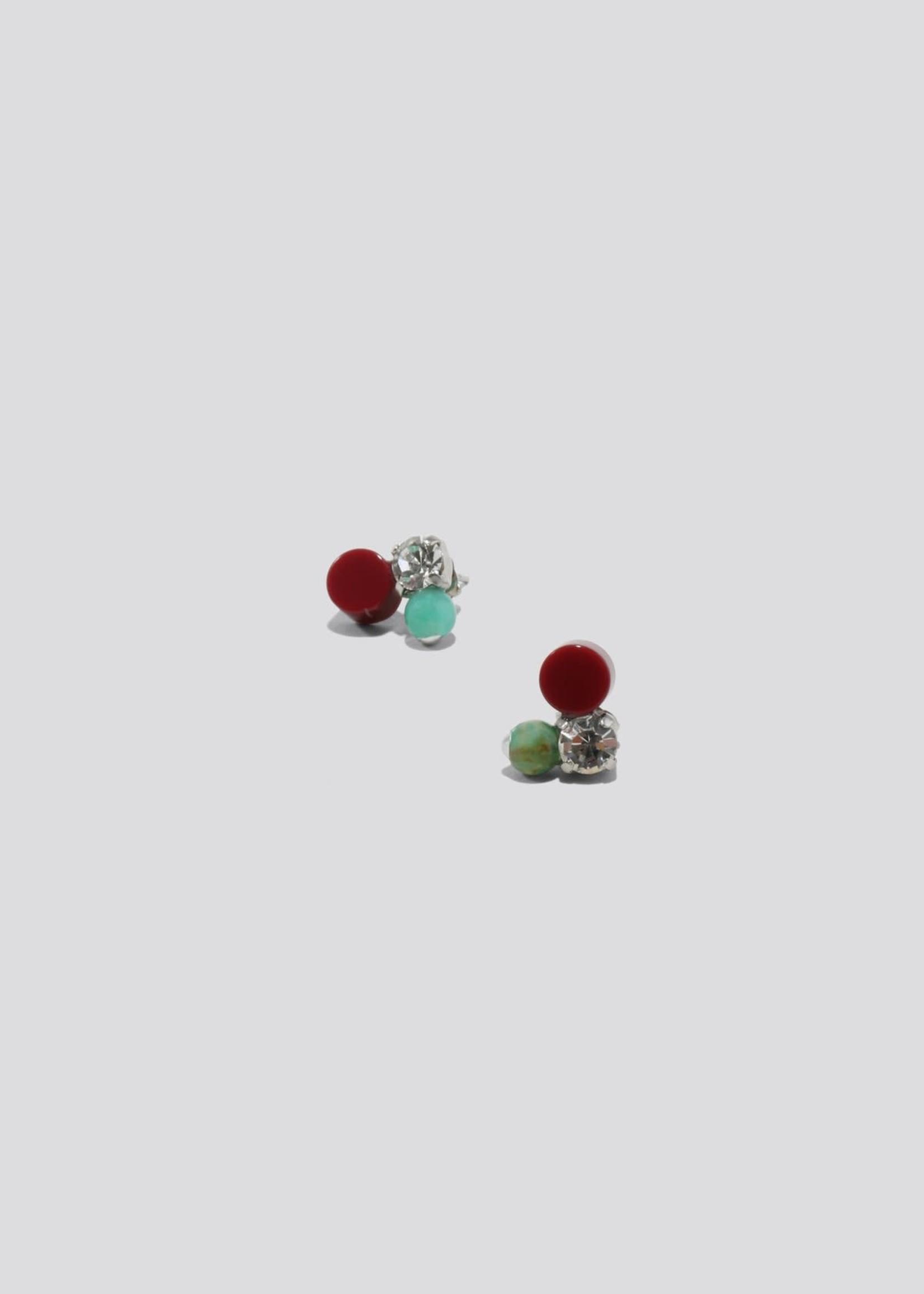Rachel Comey Glint Earrings in Jade