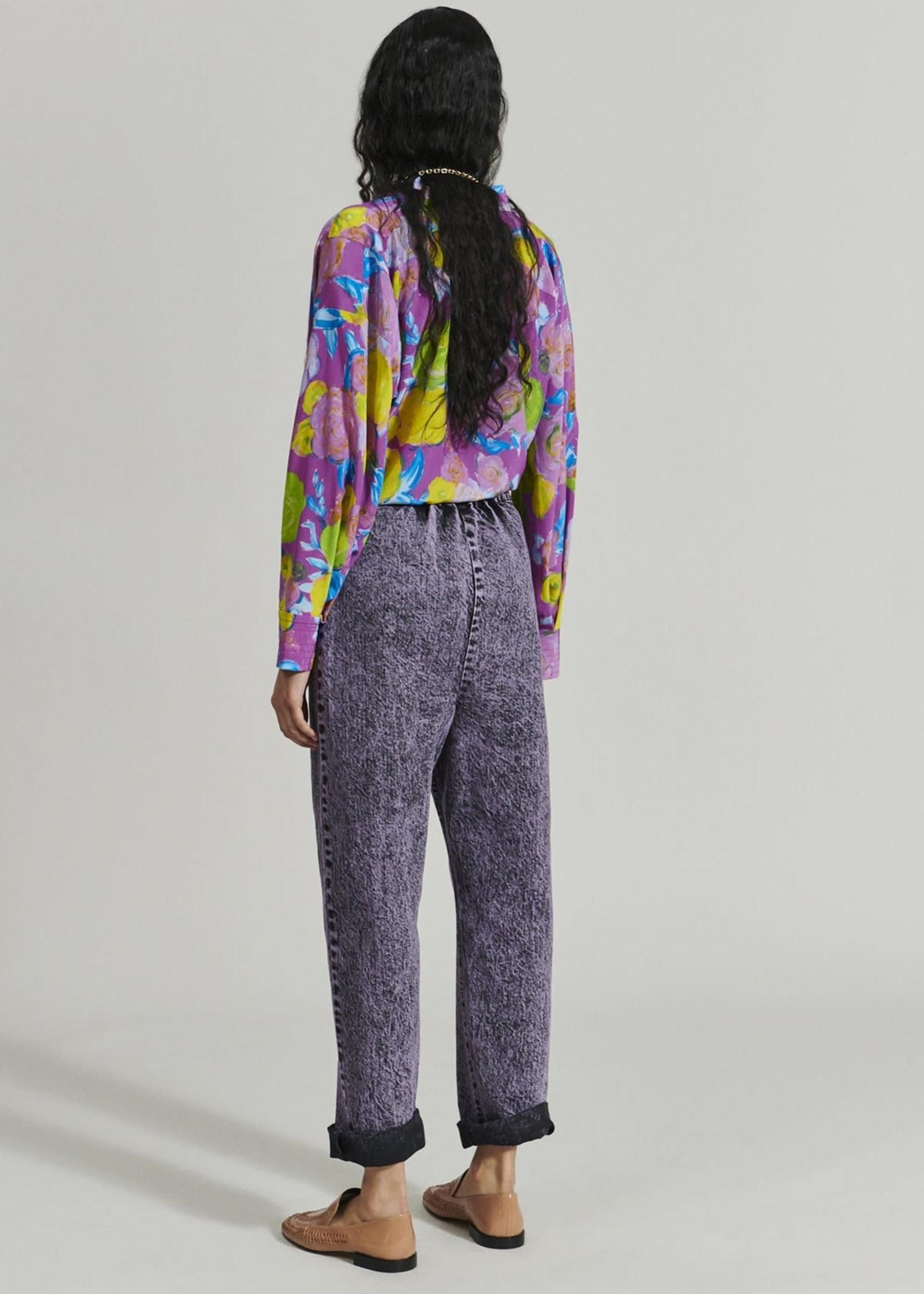 Rachel Comey Barrie Pant in Lavender Acid Wash