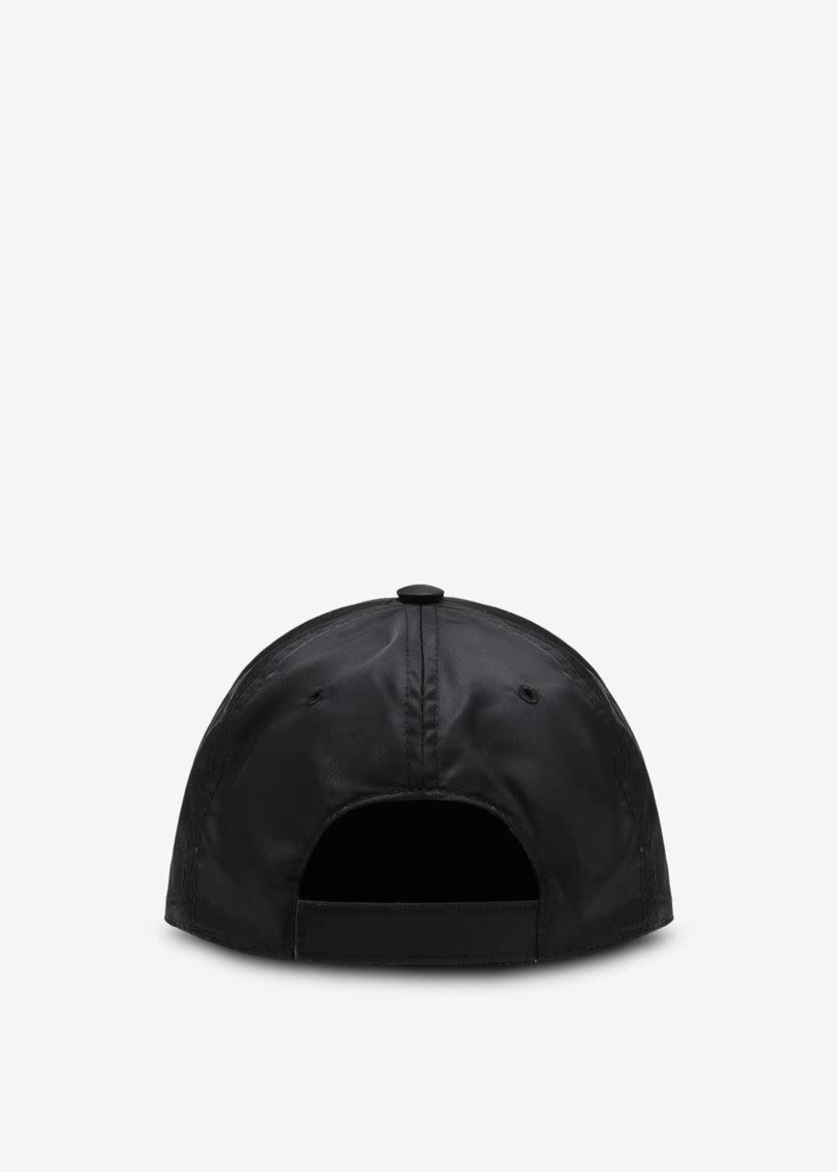 MM6 MAISON MARGIELA Nylon Logo Ball Cap in Black