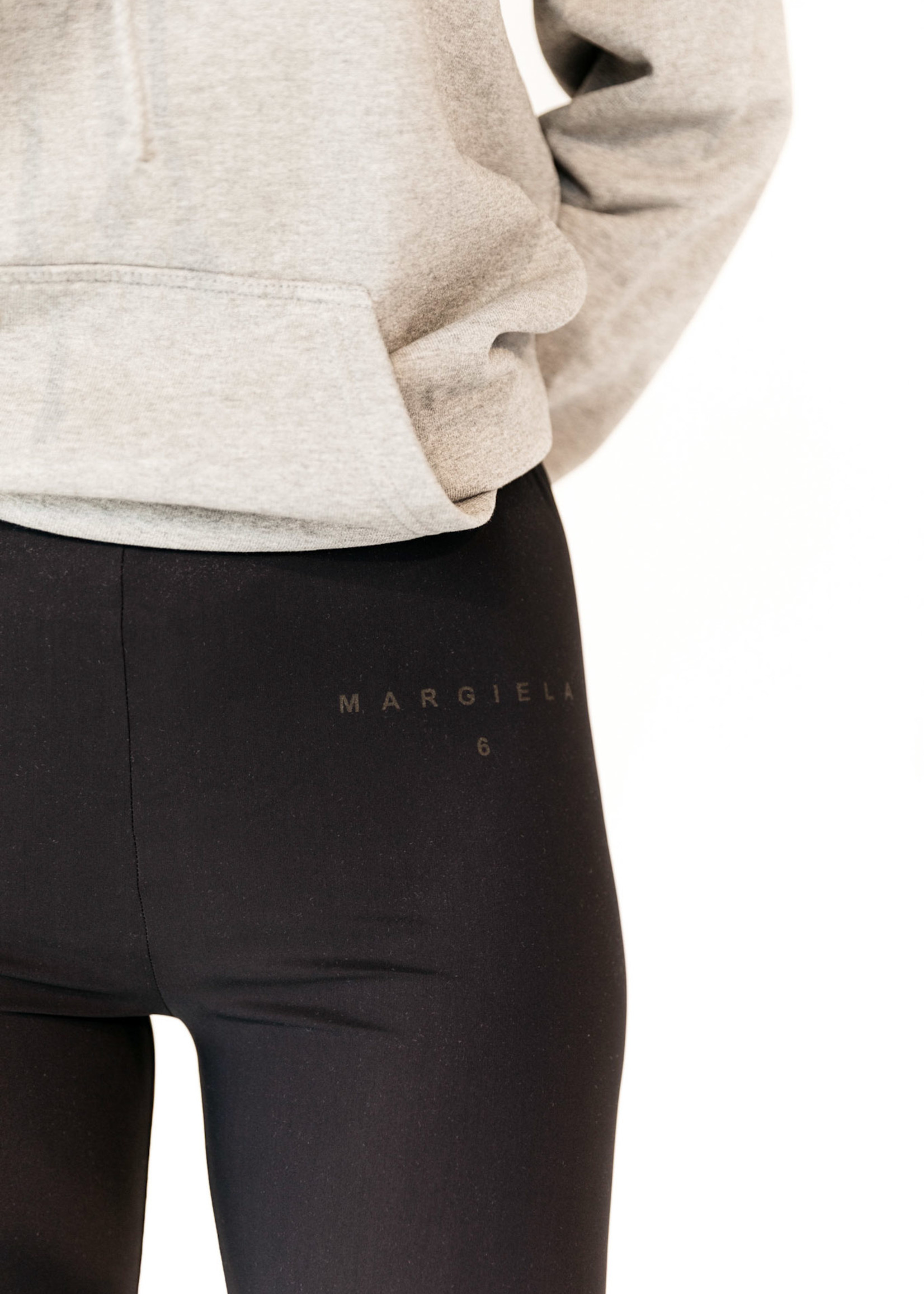 MM6 MAISON MARGIELA Logo Bike Shorts in Black