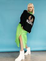 MM6 MAISON MARGIELA Eagle Logo Unisex Sweatshirt in Black