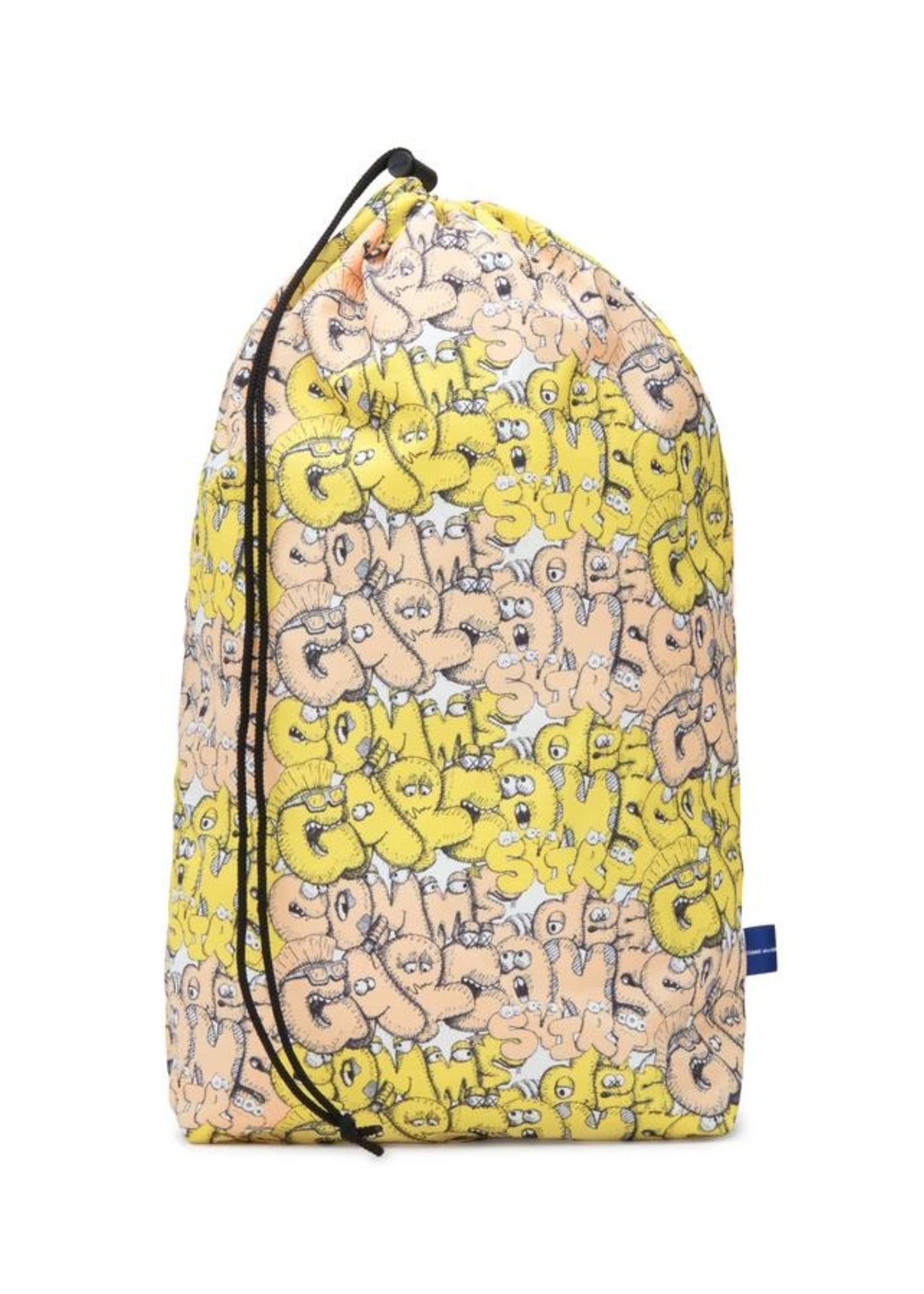 COMME des GARÇONS SHIRT CDG X KAWS BAG IN Yellow