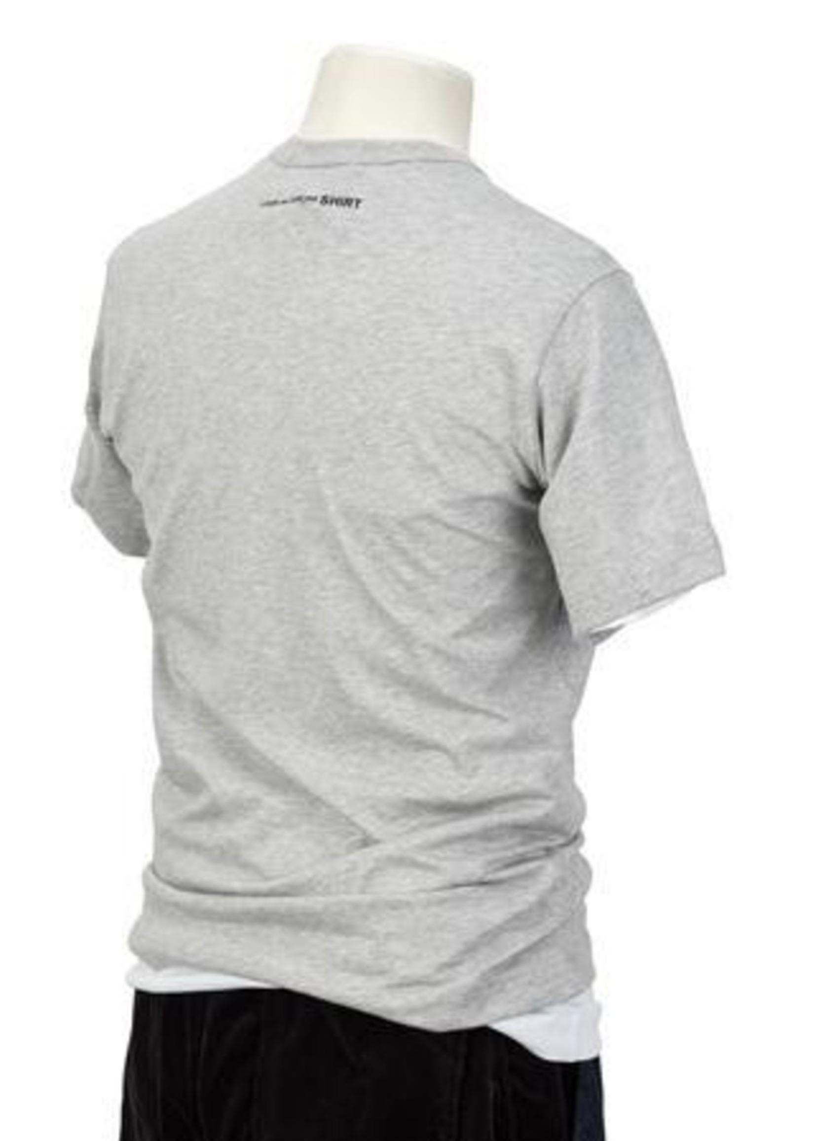 COMME des GARÇONS SHIRT Logo T-shirt in Heather Grey