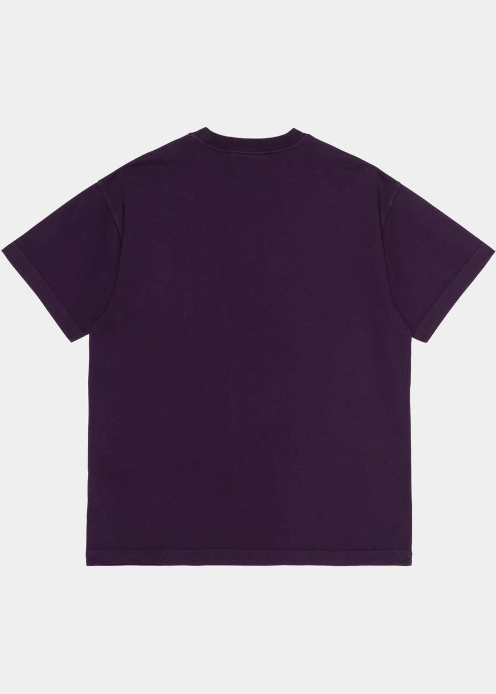 Carhartt Work In Progress Vista T-shirt in Dark Iris