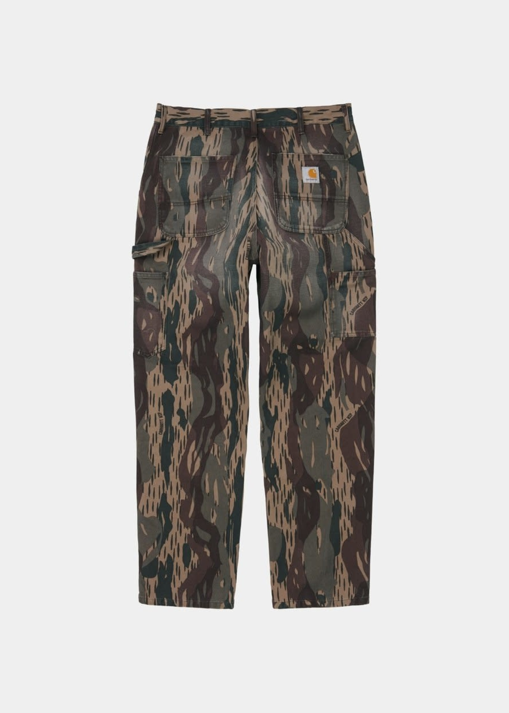 Carhartt Work In Progress Double Knee Pant in Aged Canvas Camo
