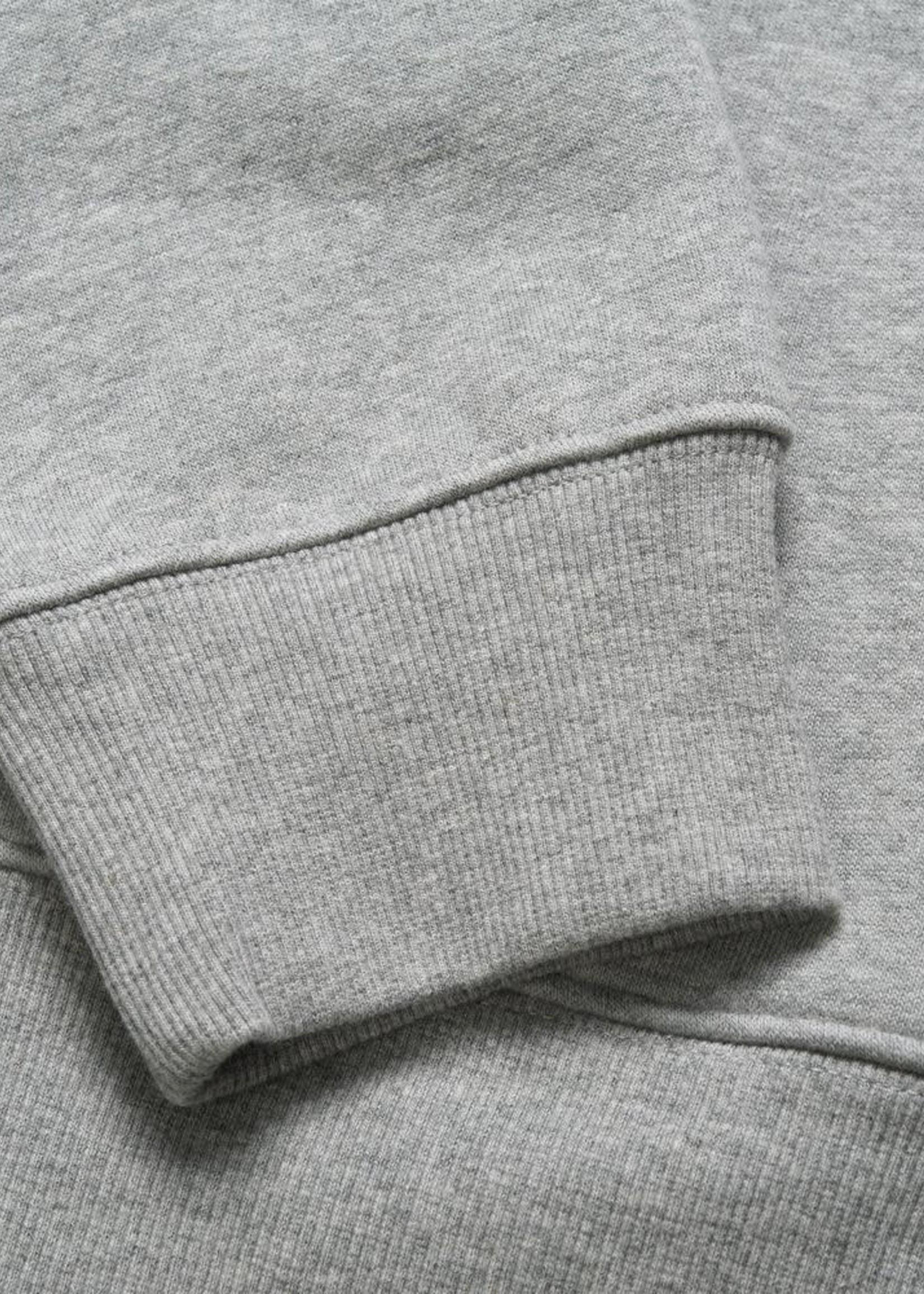 Carhartt Work In Progress Chase 1/2 Zip Sweatshirt in Heather Grey