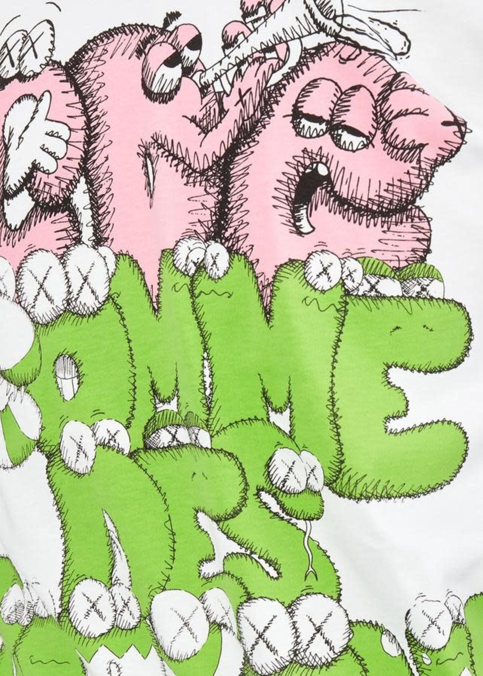 COMME des GARÇONS SHIRT CDG X KAWS Green Logo Tee