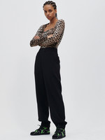 GANNI Recycled Crepe Trousers