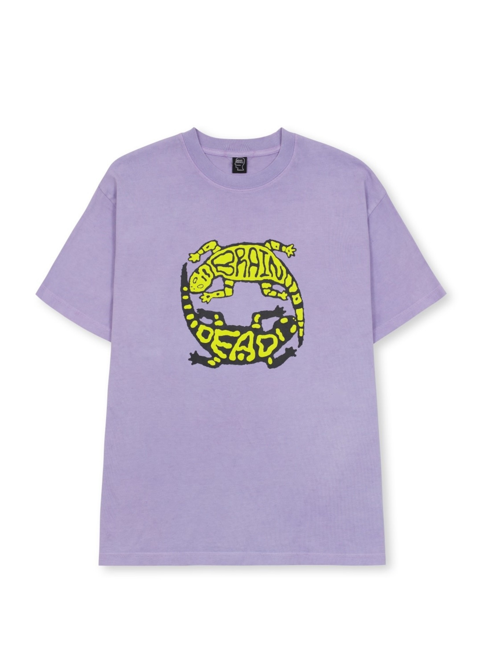 Brain Dead Lizard Lock T-shirt in Lavender