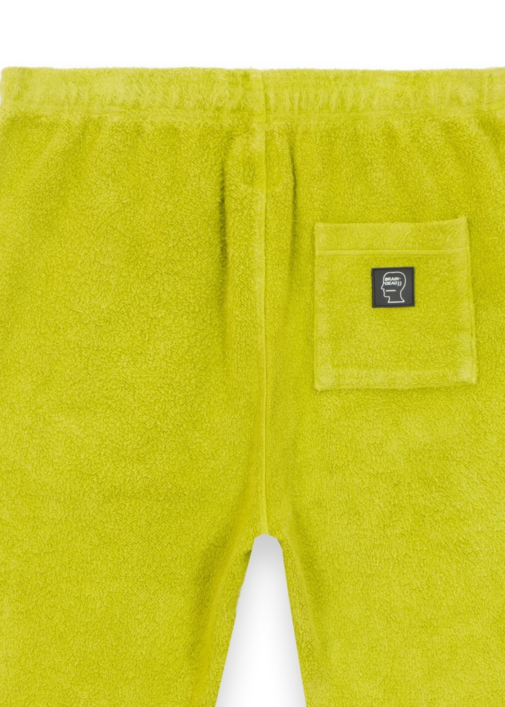 Brain Dead Slime Reversed Fleece Sweatpant in Apple