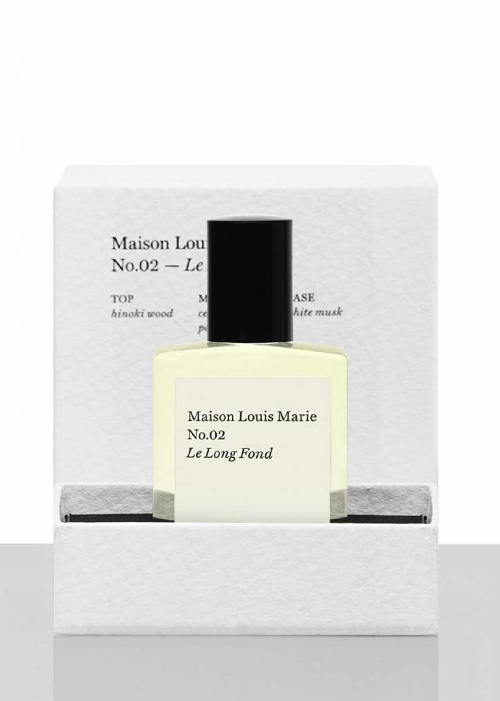 Maison Louis Marie Maison Louis Marie No.02 Le Long Fond Perfume Oil