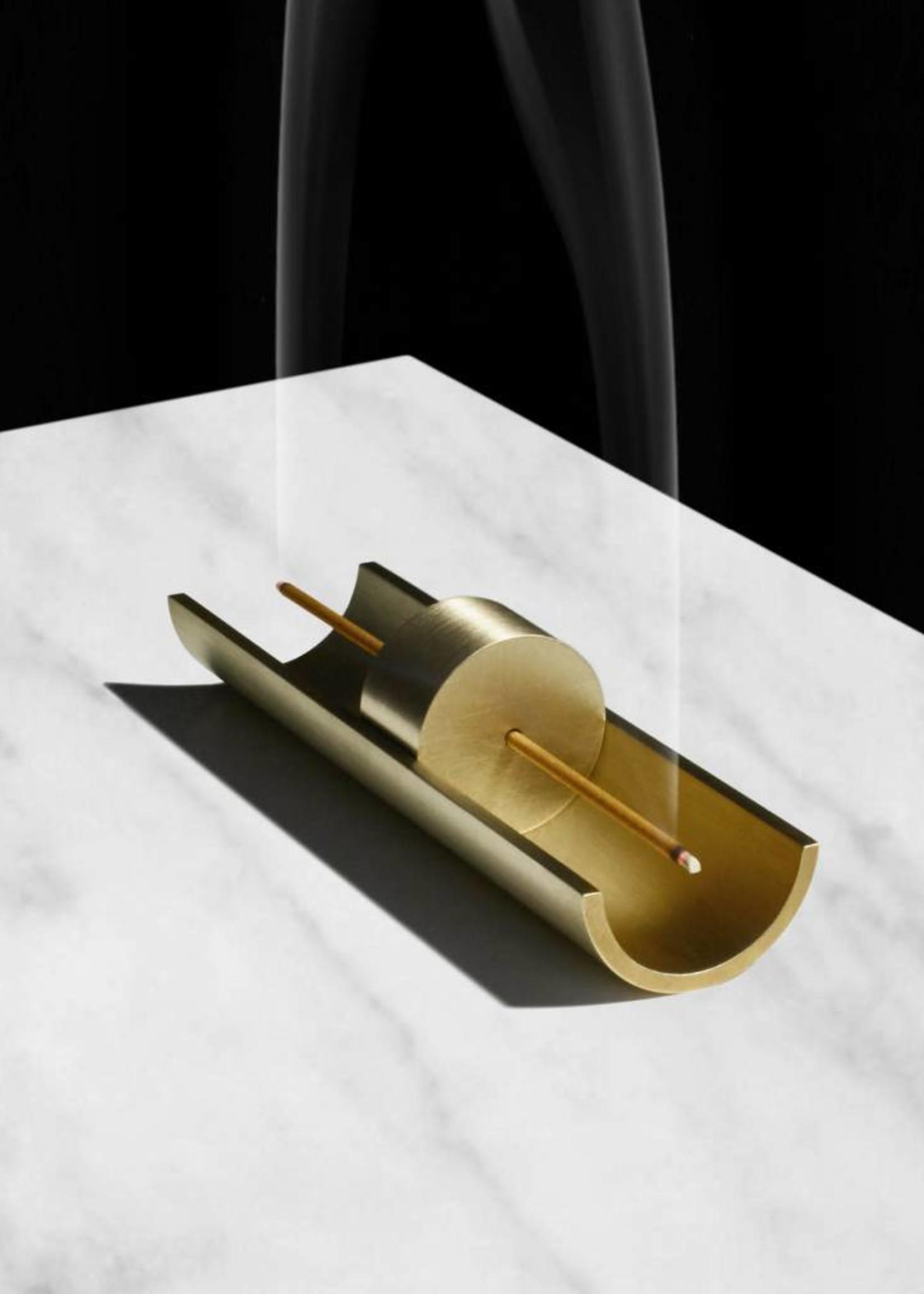 Circa Brass Incense Burner