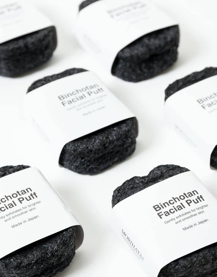Morihata Charcoal Facial Scrubber