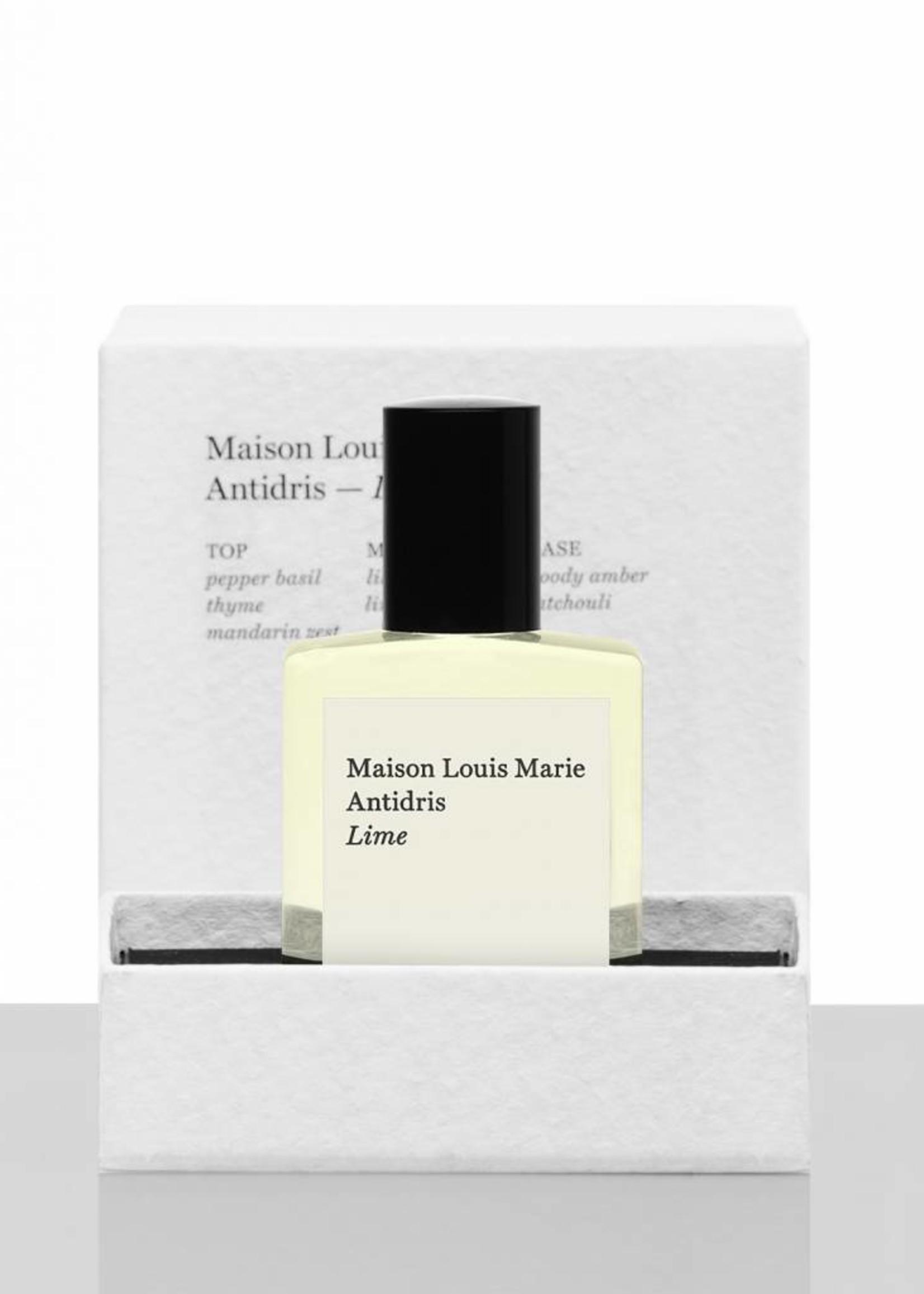 Maison Louis Marie maison louis marie antidris lime perfume oil