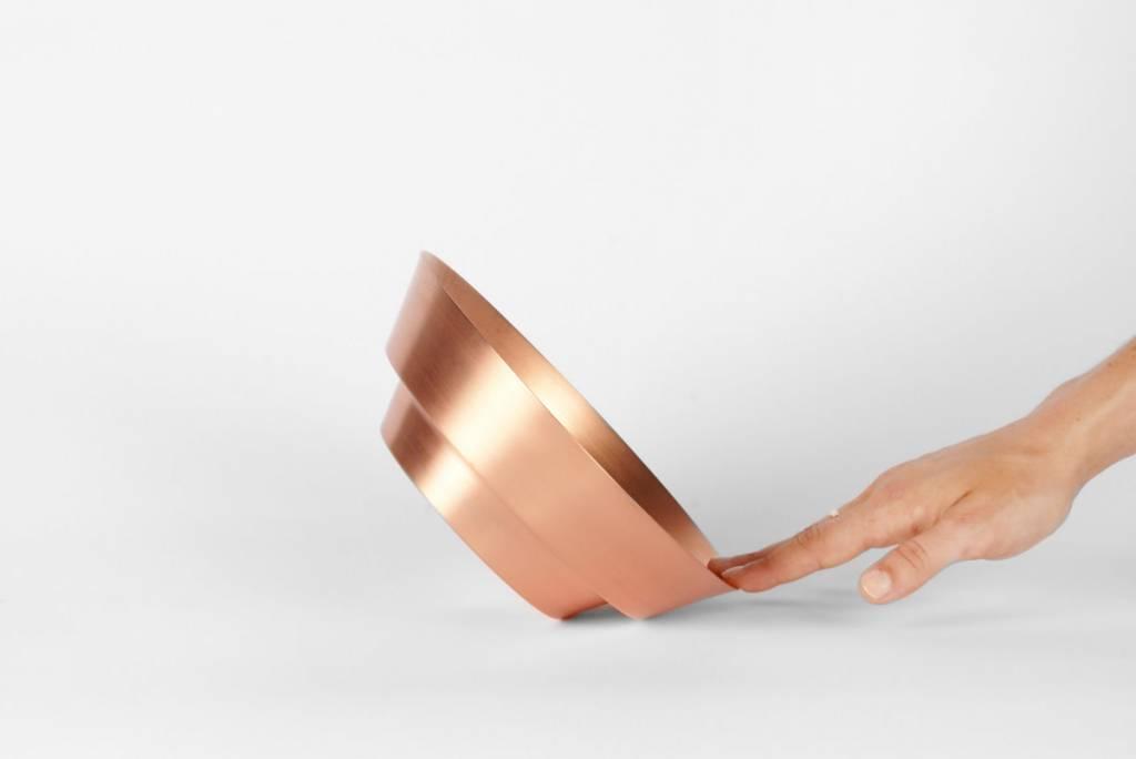 """8"""" Spun Copper Bowl by yield design co"""