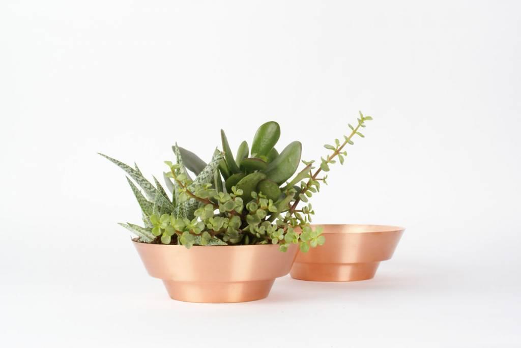 "Yield Design Co 8"" Spun Copper Bowl by yield design co"
