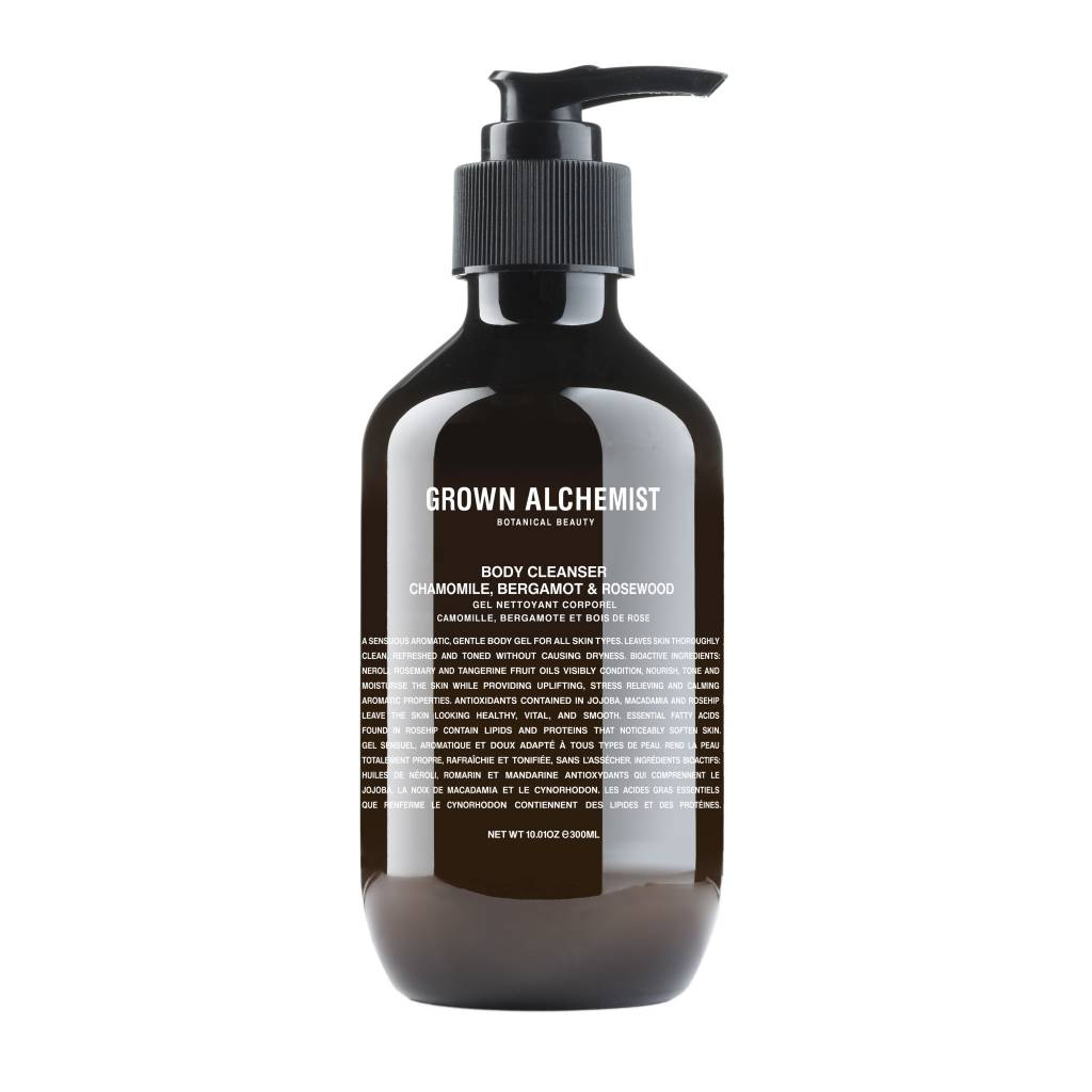 Grown Alchemist Grown alchemist Body Cleanser: Bergamot & Rosewood 300ml