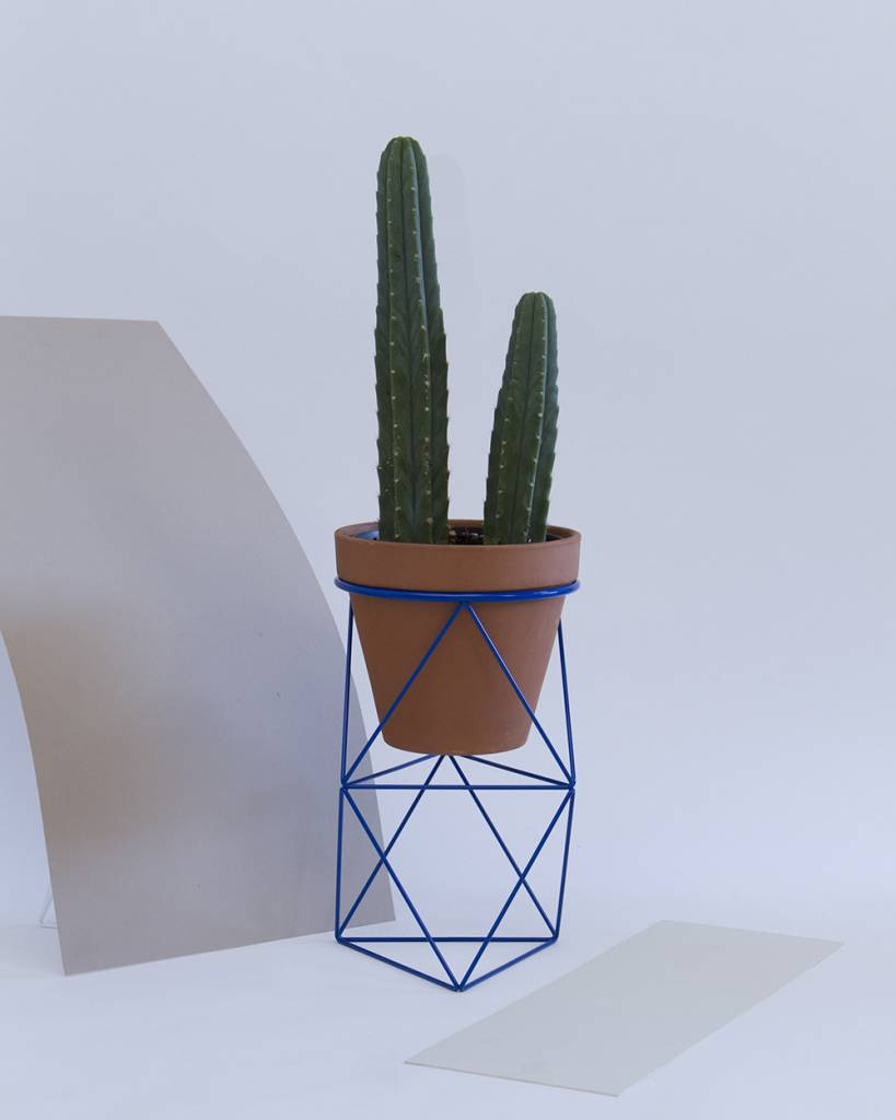 Amigo Modern Double Octahedron Ring Planter by Eric Trine