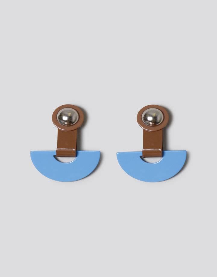 Rachel Comey Rachel Comey Zora Earrings: Blue/Brown