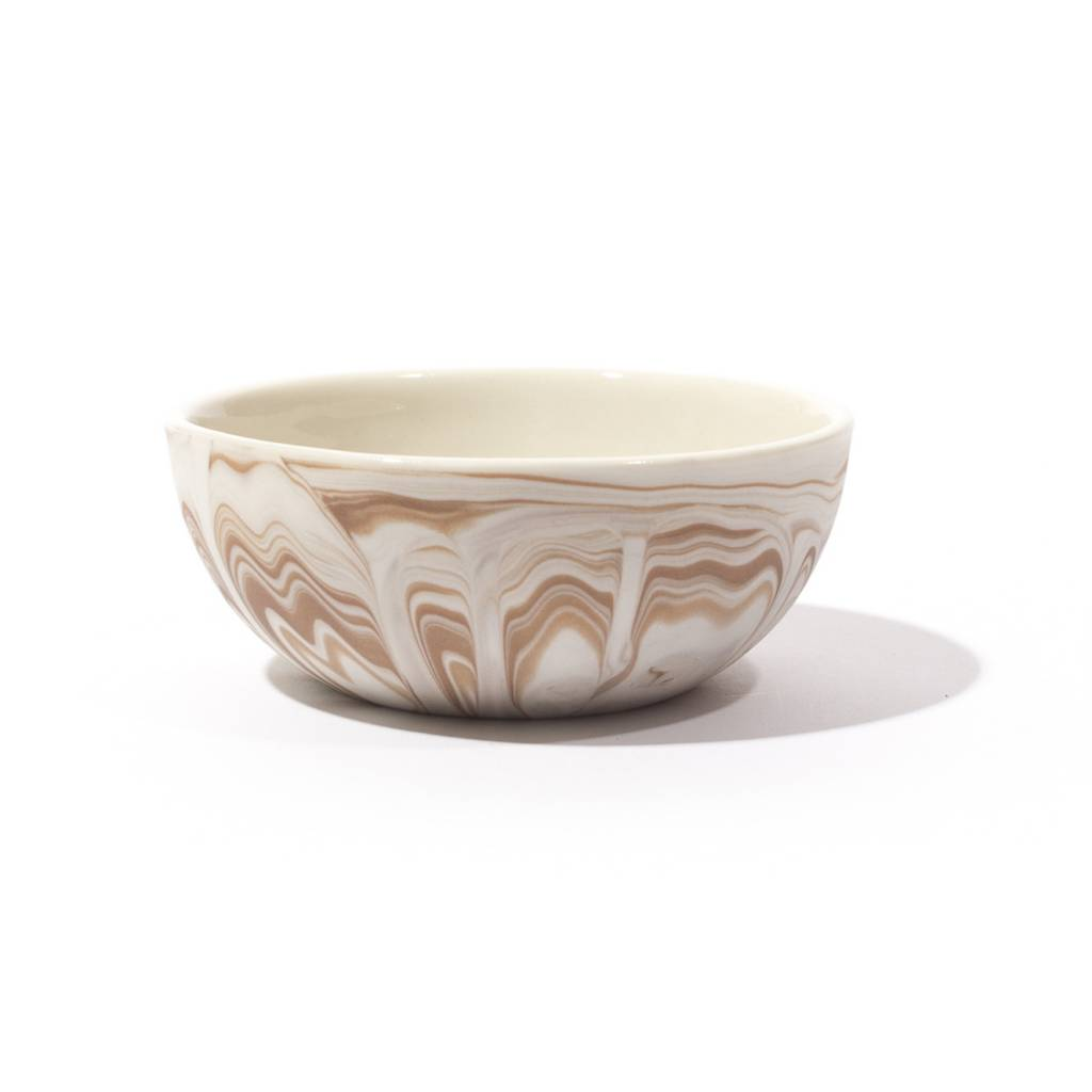 Andrew Molleur Petite  Bowl in Brick Marble