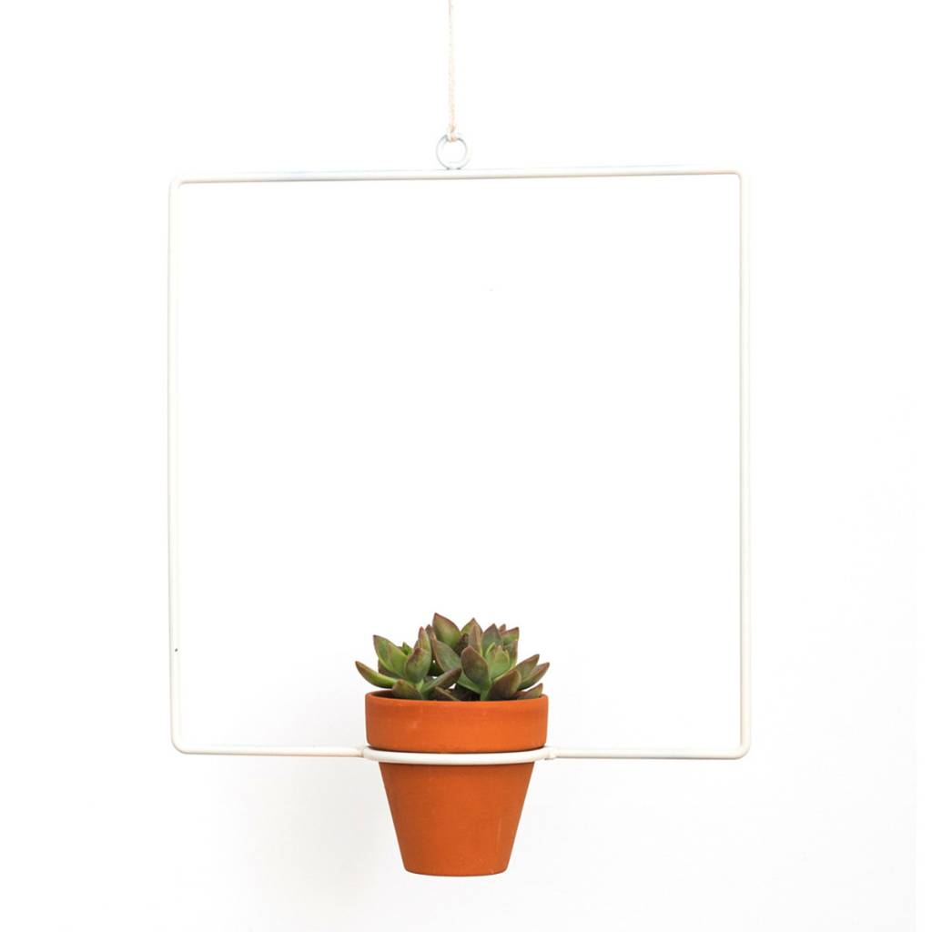 Square Hanging Planter by New Made LA