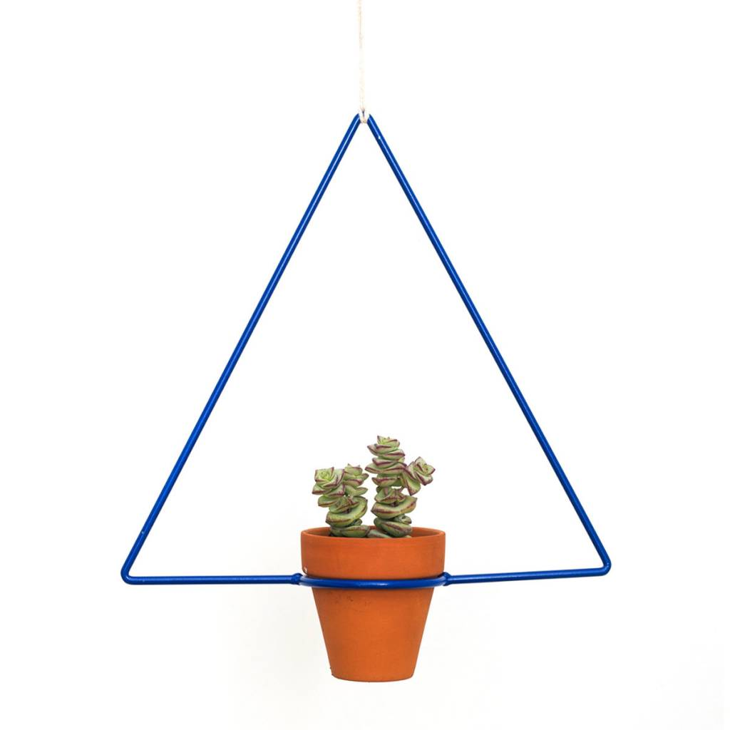 Triangle Hanging Planter by New Made LA