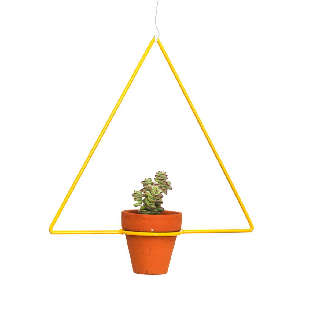 New Made LA Triangle Hanging Planter by New Made LA