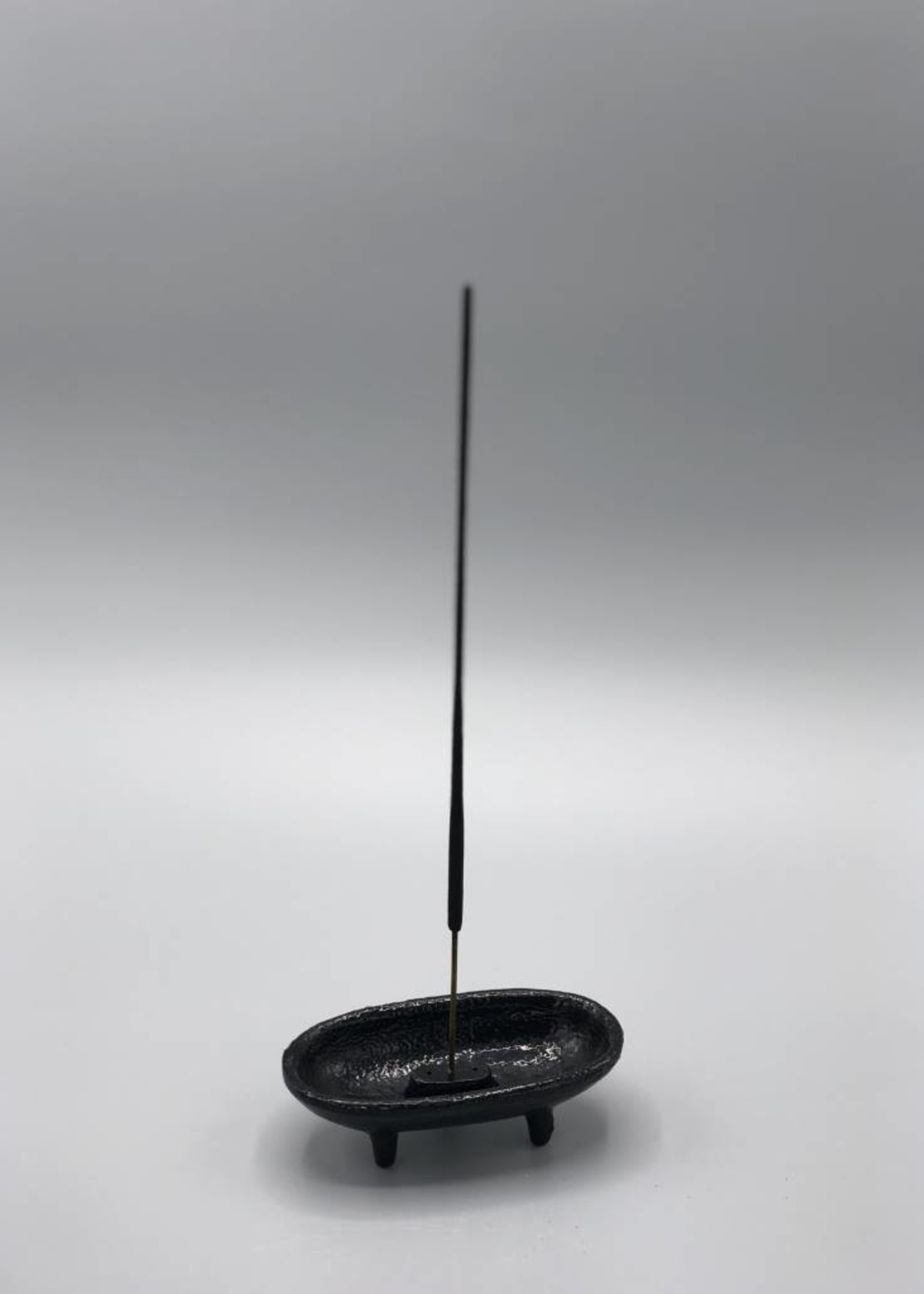 NOW or NEVER Cast Iron 2 Piece Smudge and Incense Burner