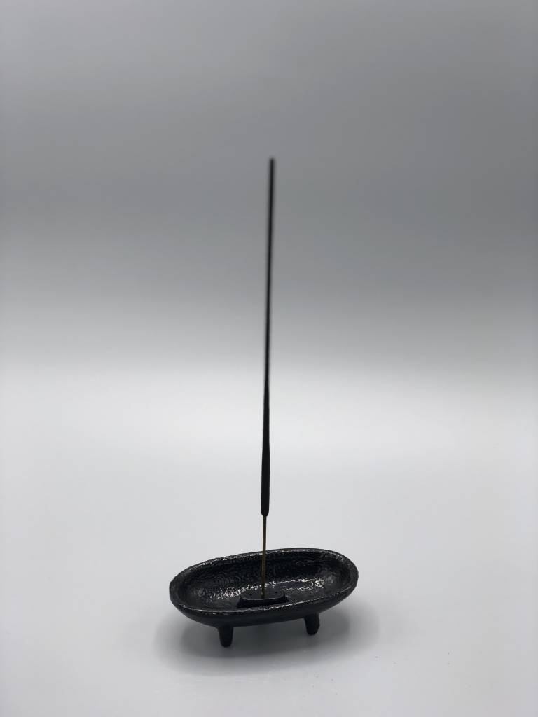 NOW or NEVER Cast Iron Incense Burner