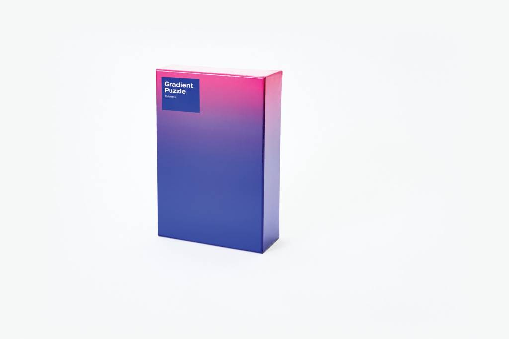 Areaware Gradient Puzzle in Blue and Pink from Areaware