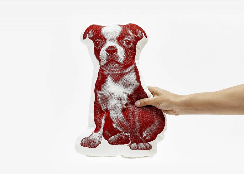 Areaware Boston Terrier Pillow from Areaware