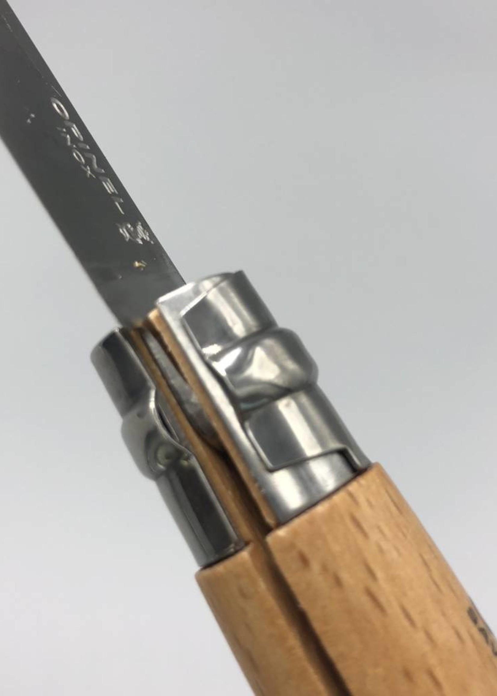 Opinel No 10 Corkscrew Folding Knife