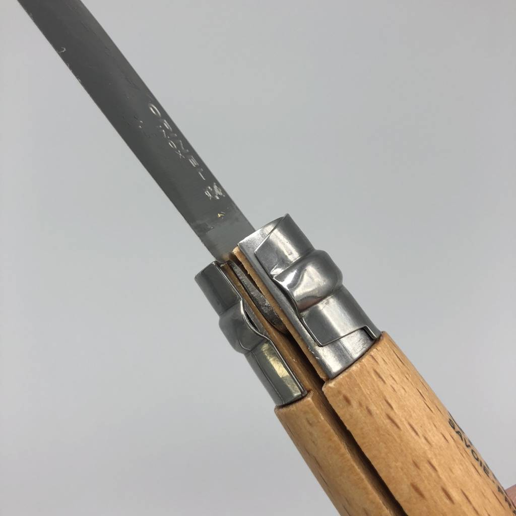 Opinel No8 Beachwood Folding Knife